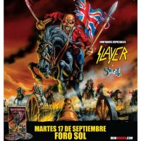 Iron Maiden, Slayer y Ghost Mexico 2013