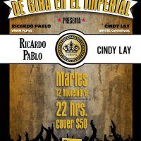Ricardo Pablo y Cindy Lay De Gira en El Imperial