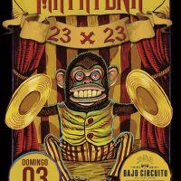 La Matatena: #LAFIESTADELAVIDA #23X23 en Bajo Circuito