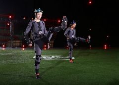 BURNABY, BC: APRIL 7, 2015 - The USA Women's Soccer Team visits the EA MOCAP facility at EA Canada in Burnaby, BC April 7, 2015 in Vancouver, Canada. Photo by Jeff Vinnick/EA