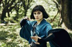 Ally Ioannides as Tilda .- Into the Badlands _ Season 1, Epsiode 1 - Photo Credit: Patti Perret/AMC