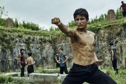 Aramis Knight as M.K. - Into the Badlands _ Season 1, Episode 4 - Photo Credit: James Minchin III/AMC