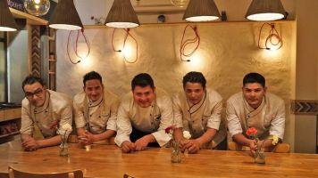 elgourmet_chef mexicano Raul Martinez y su equipo en Delhi