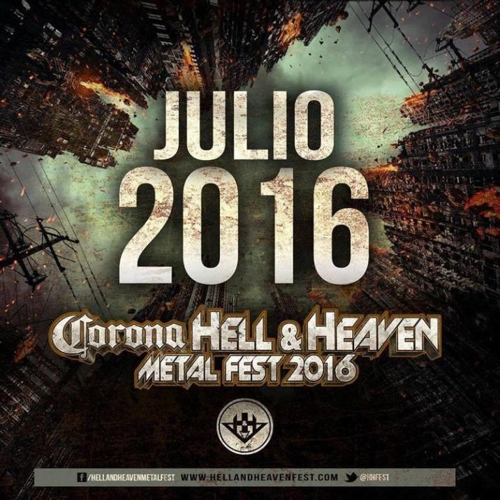HELL AND HEAVEN 2016 PRIMER ANUNCIO P1