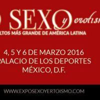 Expo Sexo y Erotismo 2016 en el Palacio de los Deportes