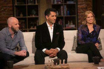 Dave Erickson, Cliff Curtis, Kim Dickens - Talking Dead _ Season 5, Episode 18 - Photo Credit: Jordin Althaus/AMC