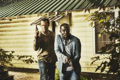 James Purefoy as Hap Collins and Michael Kenneth Williams as Leonard Pine - Hap and Leonard _ Season 1, Gallery - Photo Credit: James Minchin