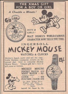 Timex Mickey Mouse 3