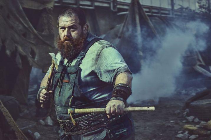 Nick Frost as Bajie- Into the Badlands _ Season 2, Gallery - Photo Credit: Carlos Serrao/AMC