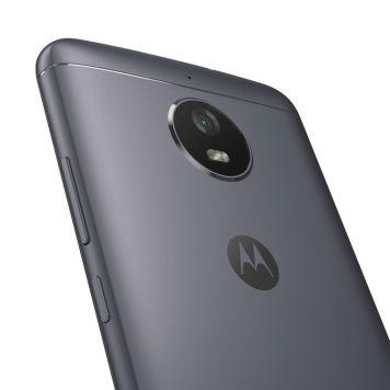 Moto E4_Iron Gray_Back Detail_Without NFC