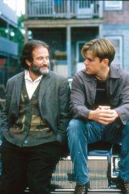 Good Will Hunting (1997) Robin Williams, Matt Damon Credit: Miramax/Courtesy Neal Peters Collection