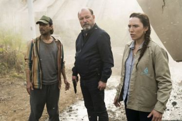 RubÈn Blades as Daniel Salazar, Lisandra Tena as Lola Guerrero, Jesse Borrego as Efrain Morales - Fear the Walking Dead _ Season 3, Episode 11 - Photo Credit: Richard Foreman, Jr/AMC