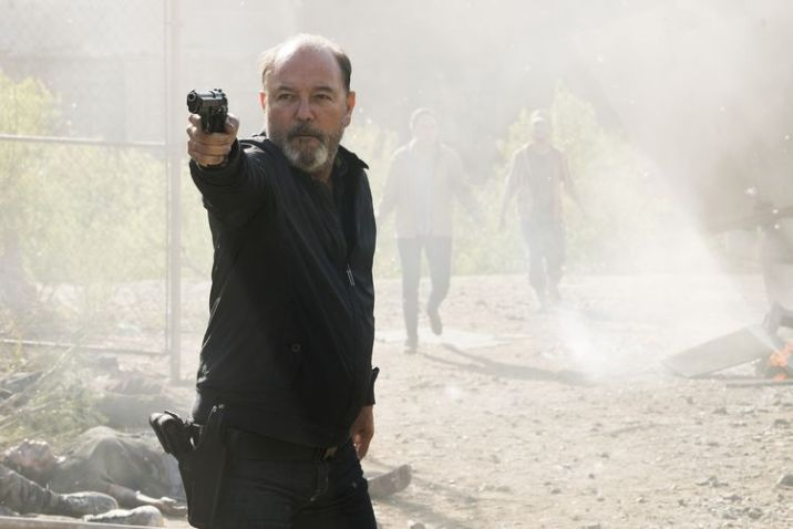 RubÈn Blades as Daniel Salazar- Fear the Walking Dead _ Season 3, Episode 11 - Photo Credit: Richard Foreman, Jr/AMC