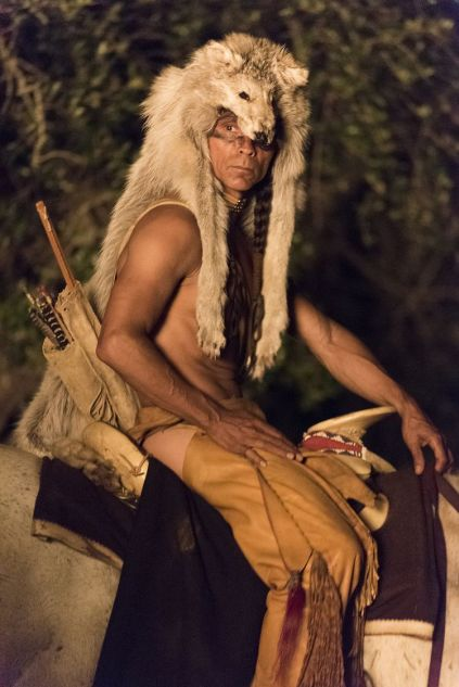 Zahn McClarnon as Toshaway - The Son _ Season 1, Episode 1 - Photo Credit: Van Redin/AMC