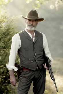 Pierce Brosnan as Eli McCullough; single - The Son _ Season 1, Episode 4 - Photo Credit: Van Redin/AMC