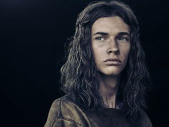 Jacob Lofland as Young Eli - The Son _ Season 1, Gallery - Photo Credit: James Minchin/AMC