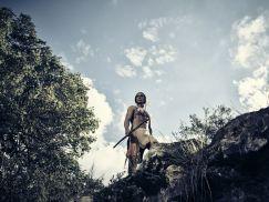 Zahn McClarnon as Toshaway - The Son _ Season 1, Gallery - Photo Credit: James Minchin/AMC