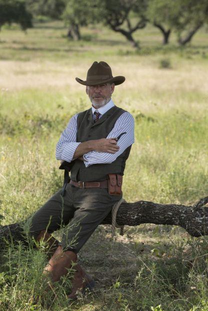 Pierce Brosnan as Eli McCullough - The Son _ Season 1, Episode 1 - Photo Credit: Van Redin/AMC