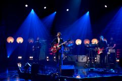 Niall Horan performing during filming of the Graham Norton Show at the London Studios, to be aired on BBC One on Friday evening.