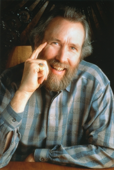A photograph of Jim Henson.