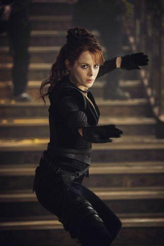 Emily Beecham as The Widow- Into the Badlands _ Season 3 - Photo Credit: Aidan Monaghan/AMC