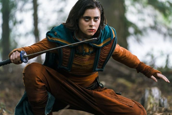 Ally Ioannides as Tilda - Into the Badlands _ Season 3, Episode 3 - Photo Credit: Aidan Monaghan/AMC