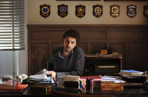 """""""il Giovane Montalbano"""" regia Gianluca Tavarelli (2011) con Michele Riondino foto di Fabrizio Di Giulio"""
