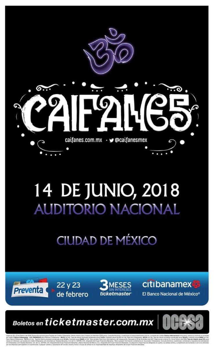Caifanes: 30 Aniversario en el Auditorio Nacional