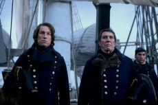 Ciarán Hinds as John Franklin, Tobias Menzies as James Fitzjames- The Terror _ Season 1, Episode 1 - Photo Credit: Screengrab/AMC
