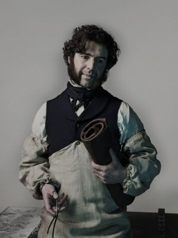 Paul Ready as Dr. Henry Goodsir- The Terror _ Season 1, Gallery - Photo Credit: Nadav Kander/AMC