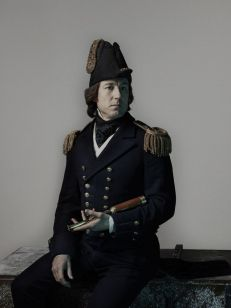 Tobias Menzies as James Fitzjames - The Terror _ Season 1, Gallery - Photo Credit: Nadav Kander/AMC