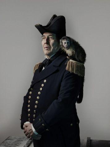 Ciarán Hinds as John Franklin- The Terror _ Season 1, Gallery - Photo Credit: Nadav Kander/AMC