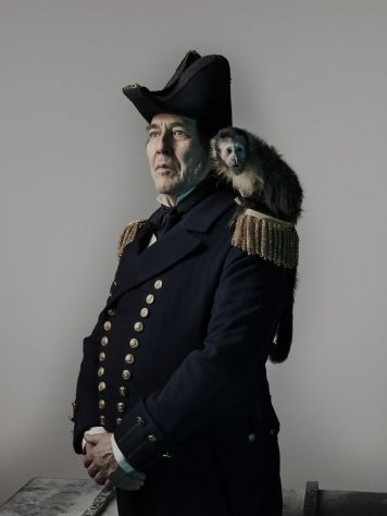 Ciarán Hinds as John Franklin - The Terror _ Season 1, Gallery - Photo Credit: Nadav Kander/AMC