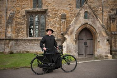 Picture shows: Father Brown (MARK WILLIAMS)