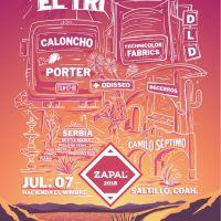 Festival Zapal 2018: 3a Edición, 7 de Julio, Saltillo, Coahuila