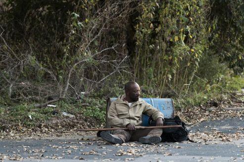 Lennie James as Morgan Jones- Fear the Walking Dead _ Season 4, Episode 1 - Photo Credit: Richard Foreman, Jr/AMC