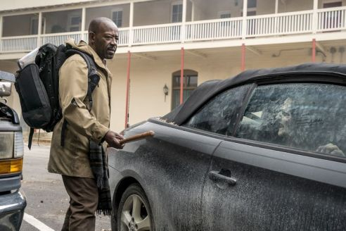 Lennie James as Morgan Jones - Fear the Walking Dead _ Season 4, Episode 1 - Photo Credit: Richard Foreman, Jr/AMC