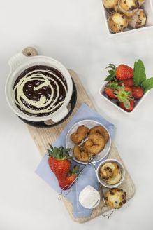 ElGourmet_Postres Caseros_ Fondue de chocolate