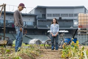 Frank Dillane as Nick Clark, Alexa Nisenson as Charlie - Fear the Walking Dead _ Season 4, Episode 2 - Photo Credit: Richard Foreman, Jr/AMC