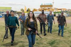 Danay Garcia as Luciana, Alycia Debnam-Carey as Alicia Clark, Colman Domingo as Victor Strand, Frank Dillane as Nick Clark; group - Fear the Walking Dead _ Season 4, Episode 2 - Photo Credit: Richard Foreman, Jr/AMC