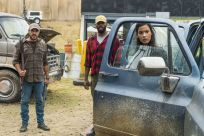 Sebastian Sozzi as ColeColman Domingo as Victor Strand, Danay Garcia as Luciana - Fear the Walking Dead _ Season 4, Episode 2 - Photo Credit: Richard Foreman, Jr/AMC