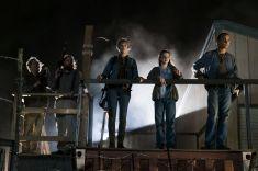 Alycia Debnam-Carey as Alicia Clark, Alexa Nisenson as Charlie, Frank Dillane as Nick Clark - Fear the Walking Dead _ Season 4, Episode 2 - Photo Credit: Richard Foreman, Jr/AMC