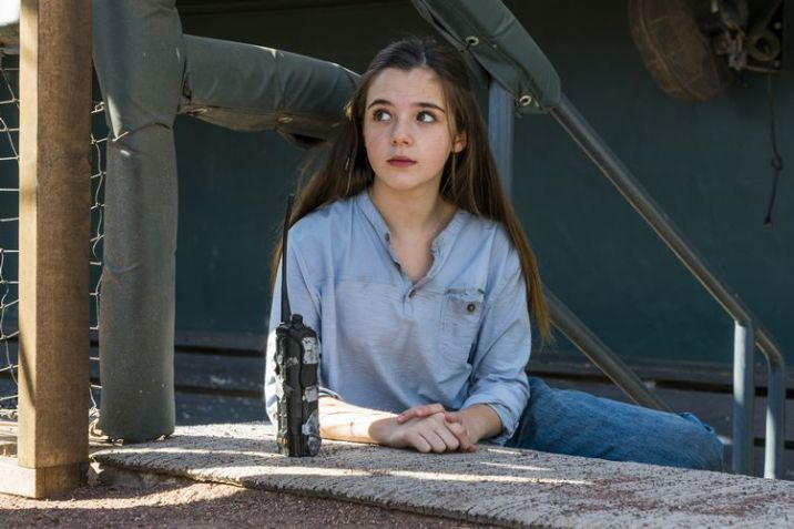 Alexa Nisenson as Charlie - Fear the Walking Dead _ Season 4, Episode 2 - Photo Credit: Richard Foreman, Jr/AMC