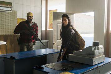 Danay Garcia as Luciana, Colman Domingo as Victor Strand - Fear the Walking Dead _ Season 4, Episode 2 - Photo Credit: Richard Foreman, Jr/AMC