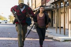 Colman Domingo as Victor Strand, Danay Garcia as Luciana - Fear the Walking Dead _ Season 4, Episode 2 - Photo Credit: Richard Foreman, Jr/AMC