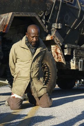 Lennie James as Morgan Jones - Fear the Walking Dead _ Season 4, Episode 2 - Photo Credit: Richard Foreman, Jr/AMC