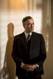 Picture shows: Judge Comeliau (AIDAN MCARDLE)