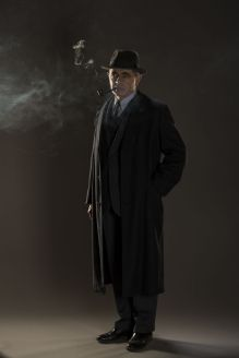 Picture shows: Jules Maigret (ROWAN ATKINSON)