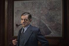Picture shows: Jules Maigret (ROWAN ATKINSON)