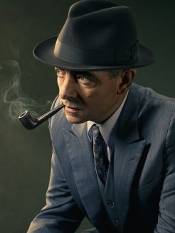 Picture shows: Maigret (ROWAN ATKINSON)
